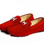 Откуда пошла мода на красные мокасины?
